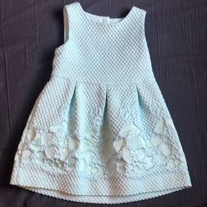 Janie and Jack jacquard dot dress